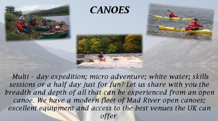 Activites - Canoes