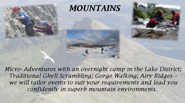 Activities - Mountains