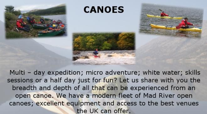 Activites - Canoes2018Rev